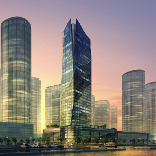 Dubai-Maritime-City-Office-Towers,-UAE-(1)